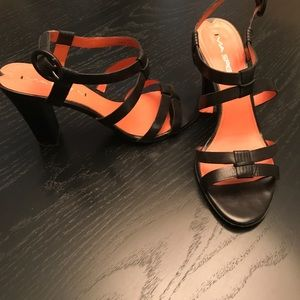Via Spiga High Heeled Strappy Sandals
